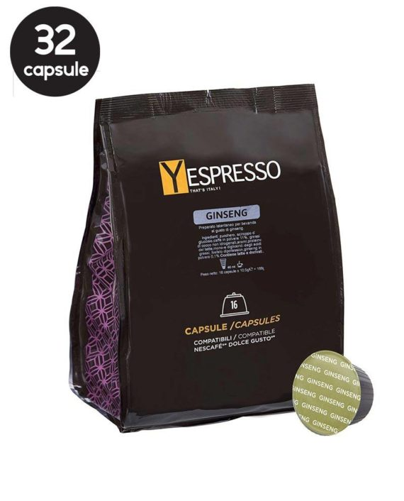 Yespresso Dolce Gusto Ginseng