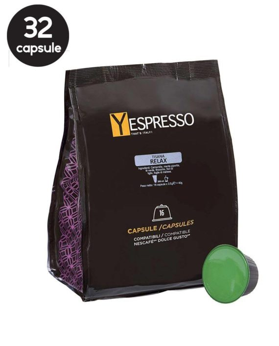 Yespresso Dolce Gusto Relax