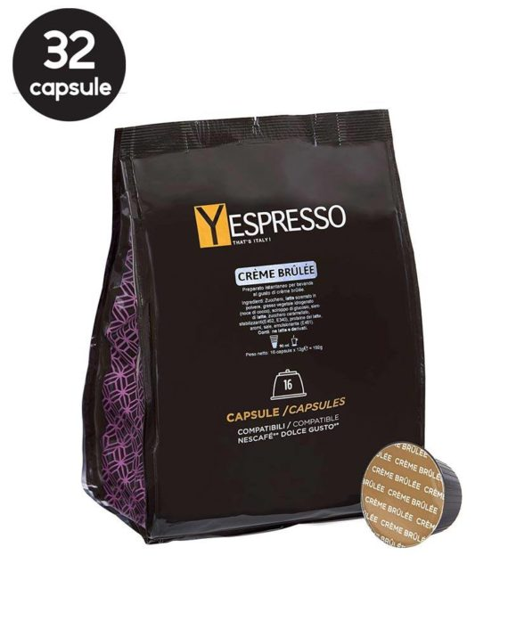 Yespresso Dolce Gusto Creme Brulee