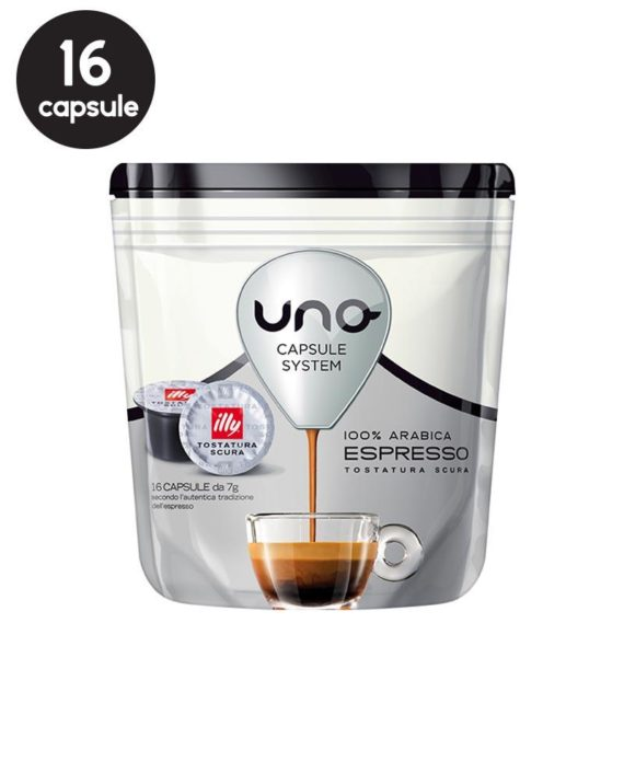 Illy Tostatura Scura Uno System
