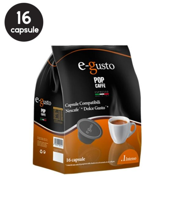 Pop Caffe Dolce Gusto Intenso